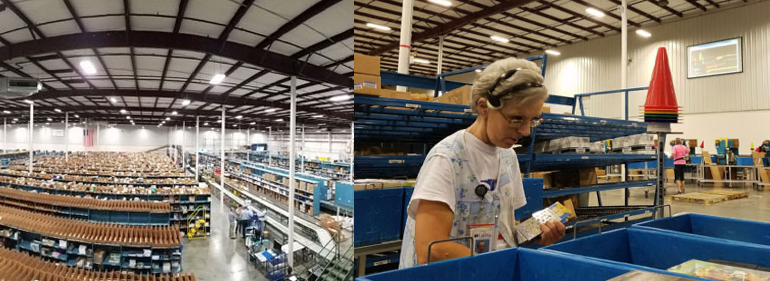 Lifeway Warehouse birds eyeview