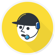 Administration & Support graphic icon hover