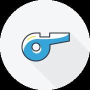 Coaching graphic icon