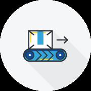 Line Management graphic icon