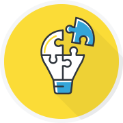 Problem Solving graphic icon hover
