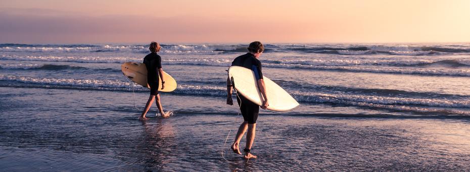 Surfer Culture Meets Standardized Work