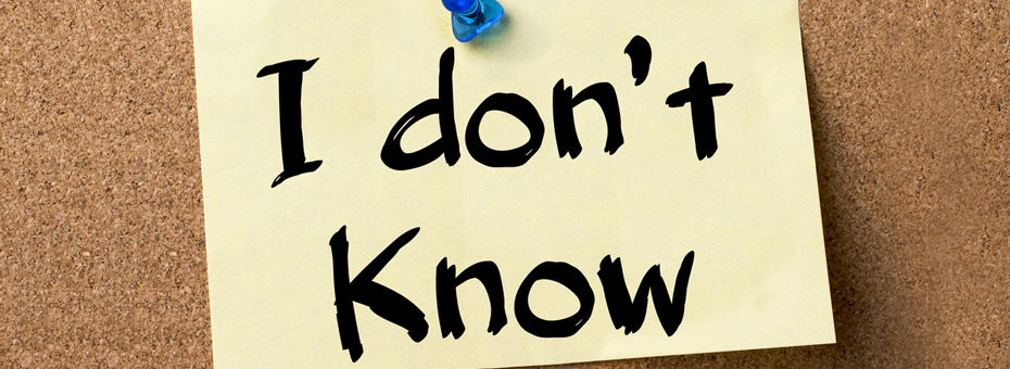 You Can't Know If You Don't Know