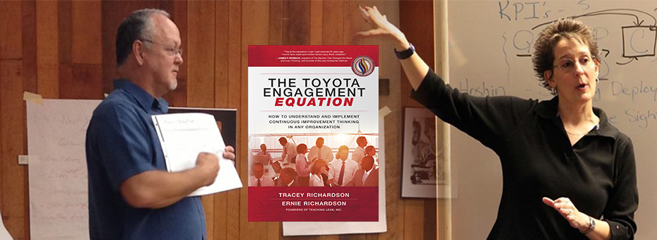 Book Review: The Toyota Engagement Equation by Tracey and Ernie Richardson