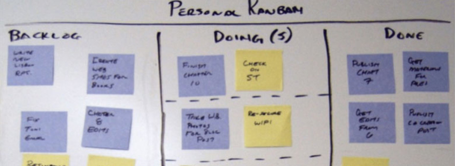 Personal Kanban: You Can't Manage What You Can't See