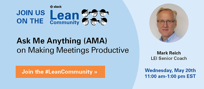 Combat Isolation with Productivity by Using PDCA for Effective Meetings, part two of two