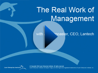 Webinar: The Real Work of Management