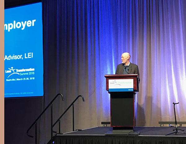 Jim Womack's Keynote Address from the 2018 Lean Summit