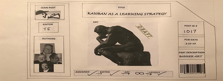 Kanban As A Learning Strategy