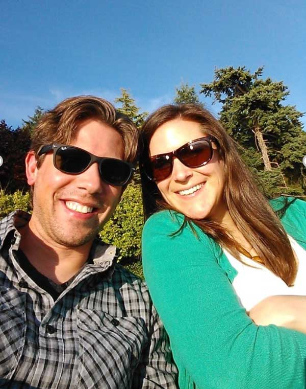 Josh Howell and wife, Christy