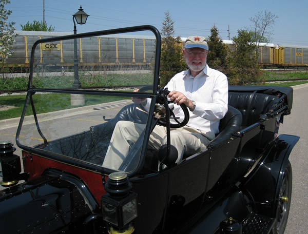 My drive on a Model-T