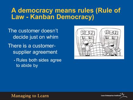 Shook-Kanban Rules