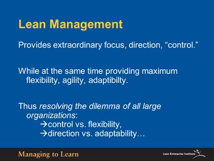 Shook-Lean Management