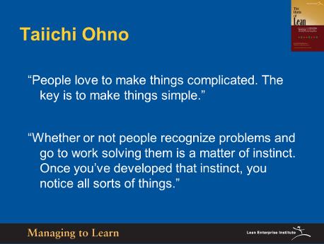 Shook-Taiichi Ohno