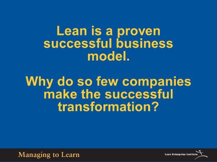 Shook-Lean is Proven Business Model