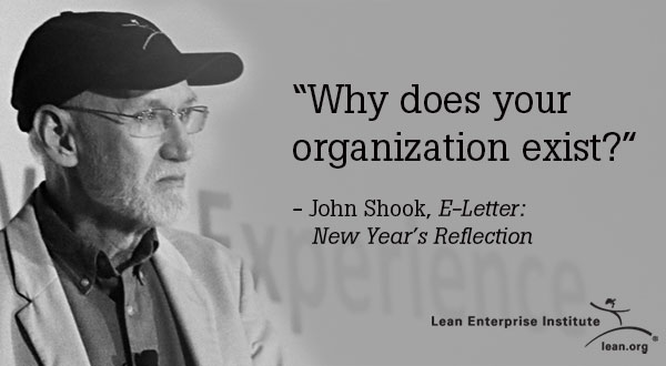 Why does your organization exist?