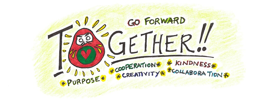 Don't Just Go Back–Go Forward…With Kindness and A Little Creativity!