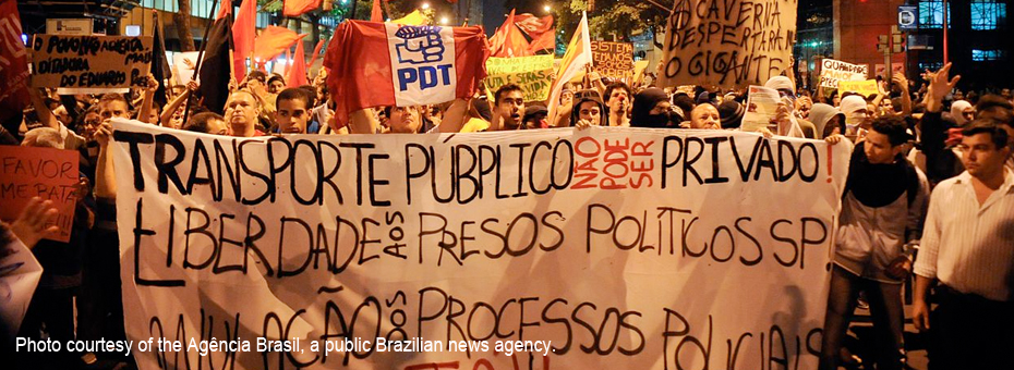 What's Really Underlying the Protests in Brazil?