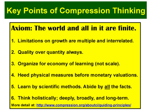 Beyond Lean: Towards Compression Thinking
