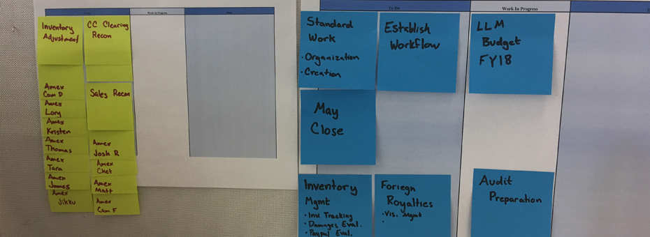 Advice from the Gemba: Personal Kanbans for Lean Beginners