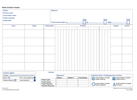 Master Schedule Template (from Perfecting Patient Journeys)