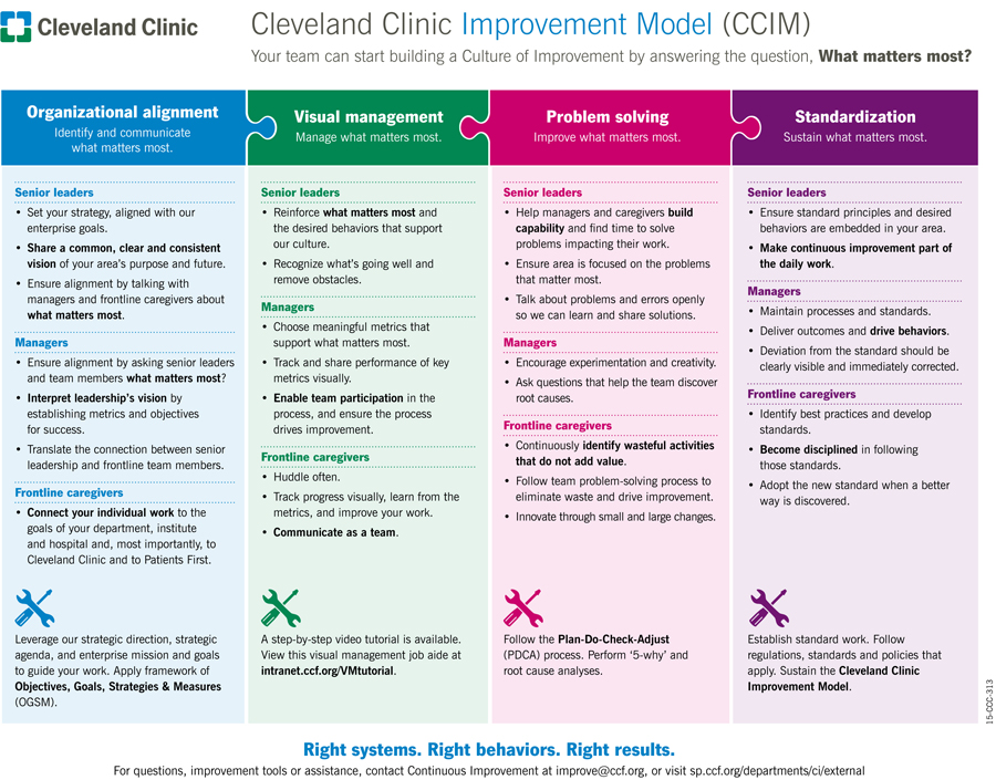 View from the Hospital Floor: How to Build a Culture of Improvement One Unit at a Time