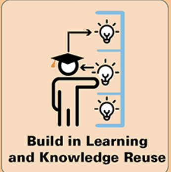 Build in Learning and Knowledge Reuse