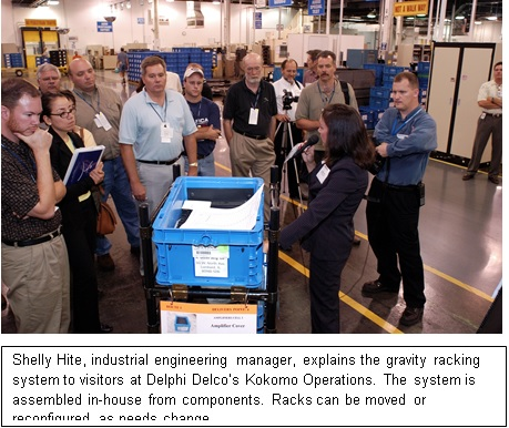 Following Four Steps to a Lean Material-Handling System Leads to a Leap in Performance