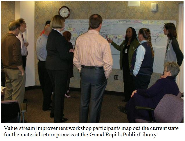 Value stream mapping project by Government