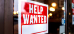 Help Wanted sign in window